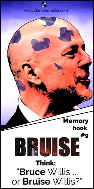 """#9 Bruise - """"Bruce Willis ... or Bruise Willis?"""""""