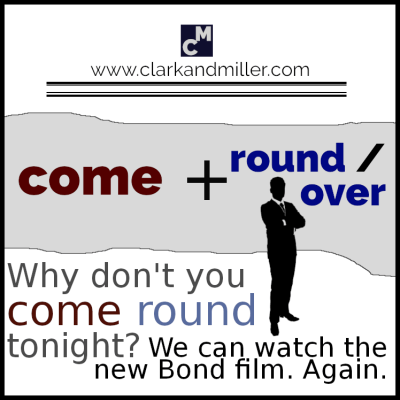 Why don't you come round tonight? We can watch the new Bond film.