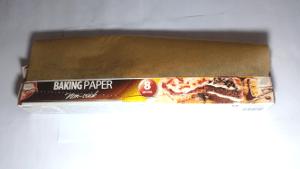 Kitchen vocabulary: Baking paper