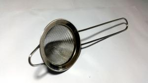 Kitchen vocabulary: Tea strainer