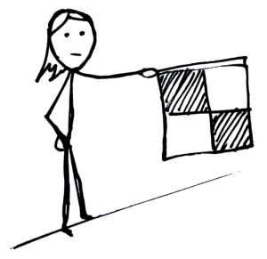 Football vocabulary: linesman / lineswoman
