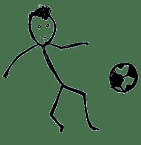 Football vocabulary: player
