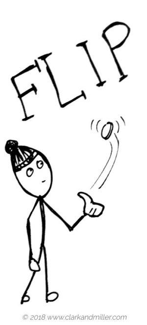 Verbs of movement: flip