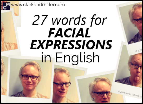 27 Words for Facial Expressions in English