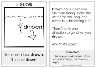 d(r)own