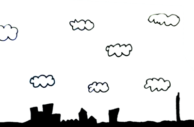 Weather vocabulary: cloudy