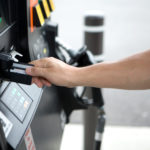 """""""paying for gas, small DOF.  Other images from this series:"""""""