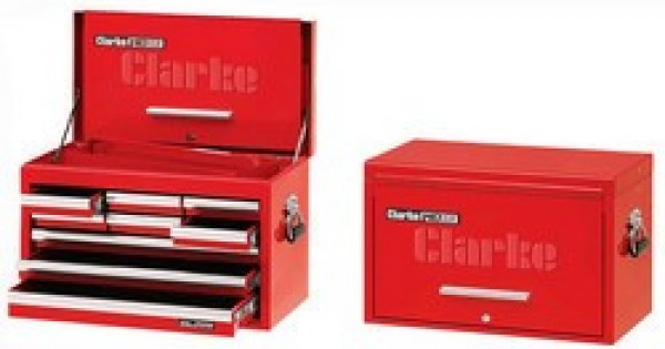 cbb209df 26 9 drawer tool chest with front cover red