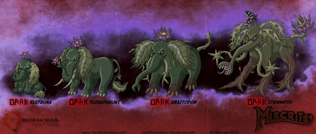 Dark Elefauna