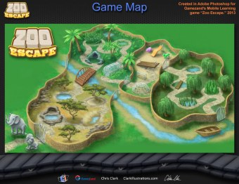 Zoo Escape Game Map (Gamezand)