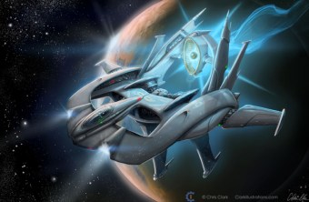 Lamborghini Spaceship