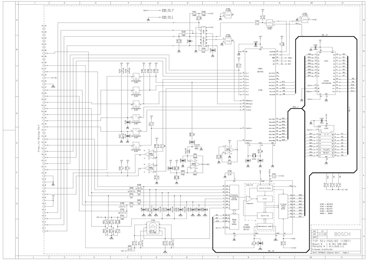 Porsche 944 Wiring Diagram
