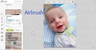 PicMonkey Airbrush