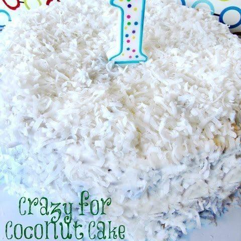 Crazy for Coconut Cake Recipe