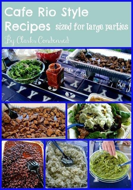 Cafe Rio Style Recipes