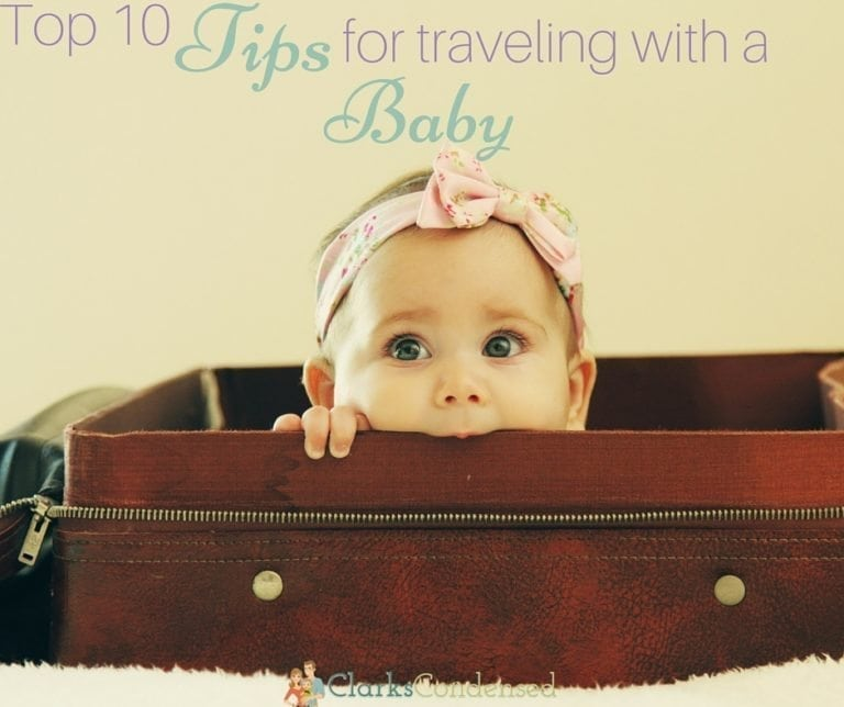 Top 10 Tips for Traveling with a Baby