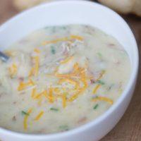 Creamy Baked Potato Soup