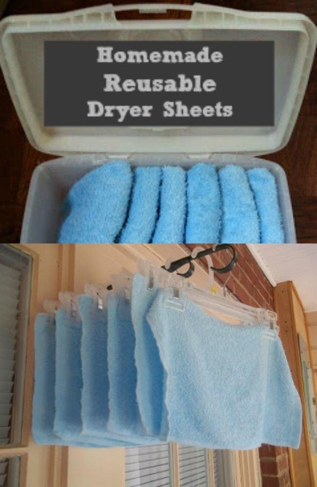 homemade-reusable-dryer-sheets
