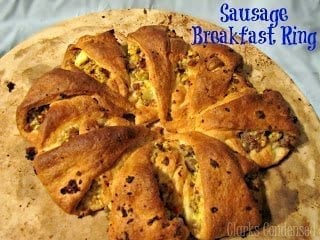 Sausage Breakfast Ring