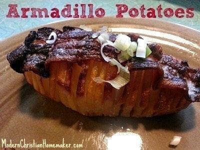 Armadillo-Potatoes