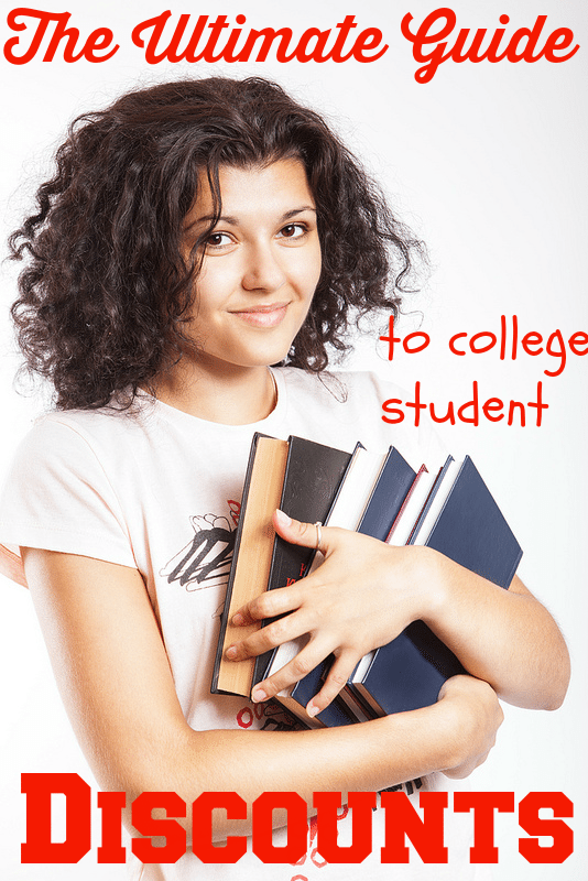 The Ultimate List of College Student Discounts