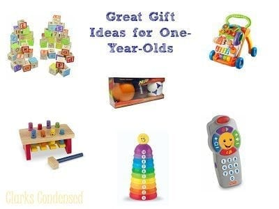 Gift Ideas for One-Year-Olds