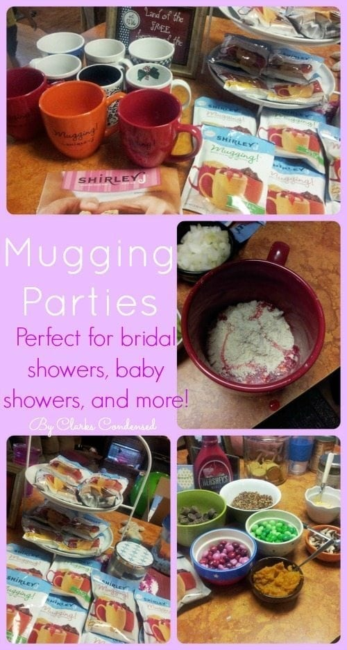 Mugging Parties -- Perfect for bridal and baby showers, and more!