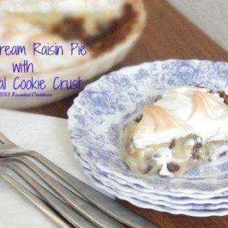 Sour Cream and Raisin Pie
