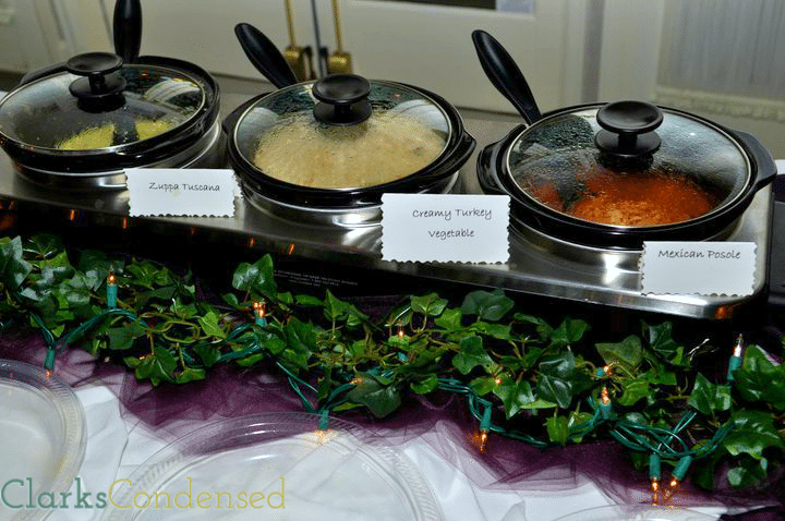 Wedding Reception ideas - soups