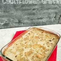 Potato and Cauliflower Gratin