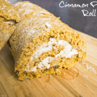 Cinnamon Pumpkin Roll