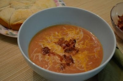 Cheeseburger Soup -- everything you love about cheeseburgers, in soup!
