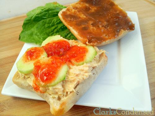 Thai Peanut Chicken Salad Sandwich by Clarks Condensed
