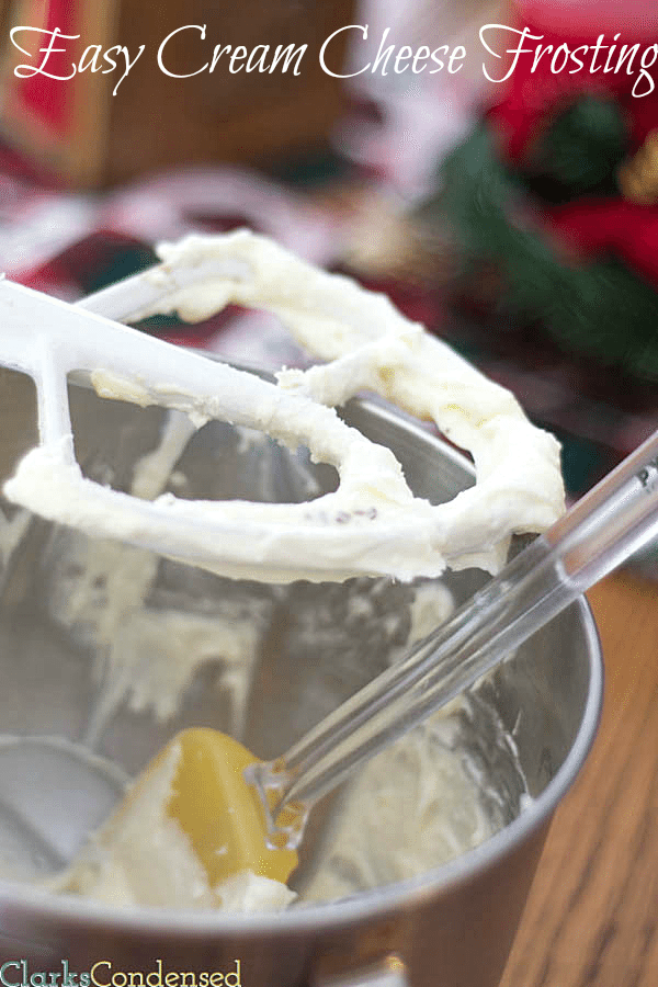 An easy and versatile cream cheese frosting recipe