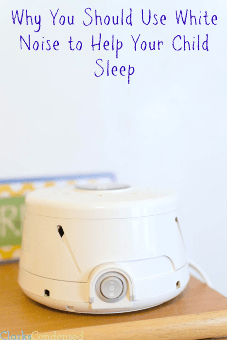 Why You Should Use White Noise to Help Your Child Sleep