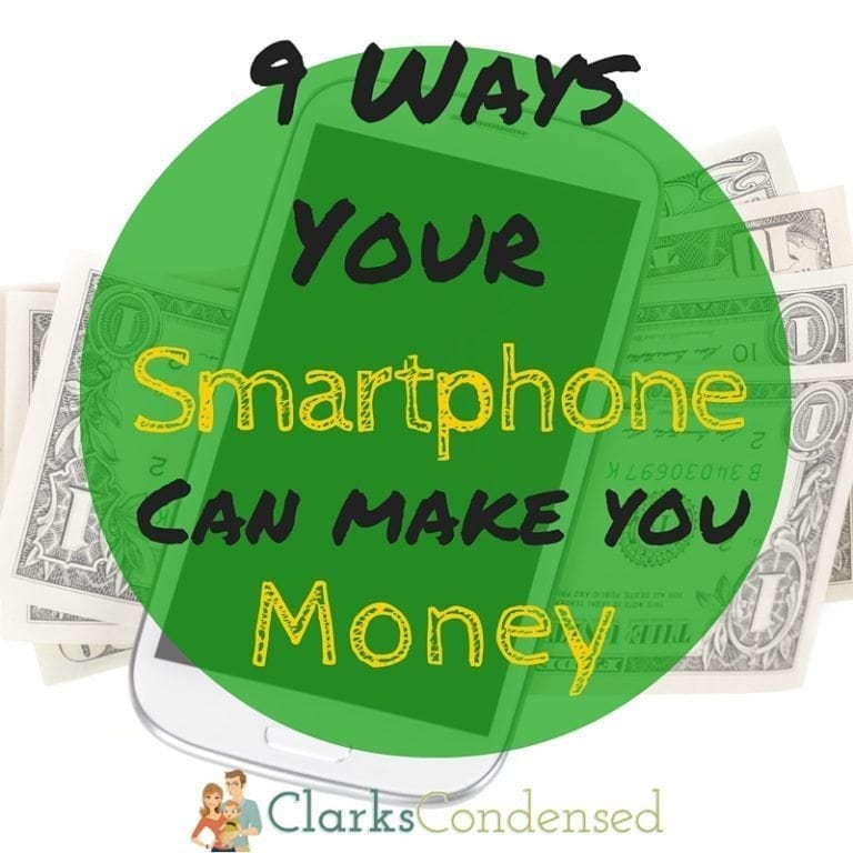 Smartphones cost a lot of money - why not make a little bit from it, too? Here are 9 ways your smartphone can make you money (or at least save it!)