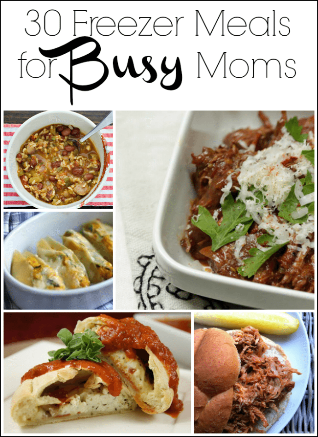 30 Freezer Meals for Busy Moms and Tips for Making Freezer Meals