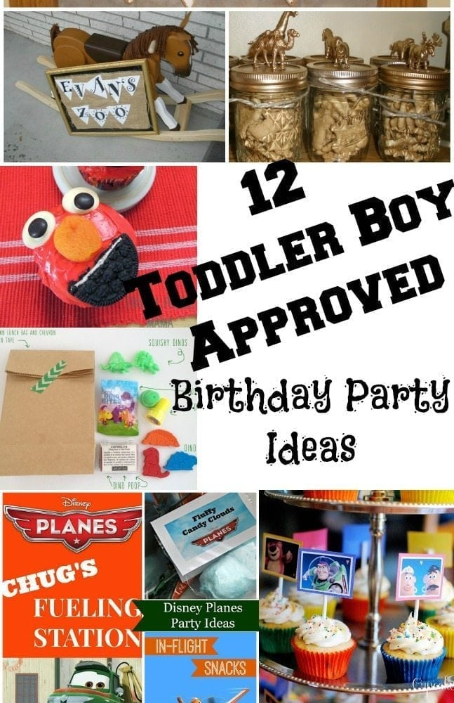 12 Awesome And Toddler Boy Approved Birthday Party Ideas From Elmo To Planes