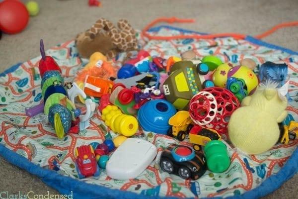 DIY Toy Bag and Playmat