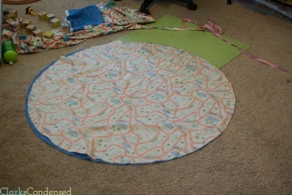 How to cut a circle out of fabric