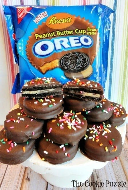 Reese's PB Cup Oreos 1