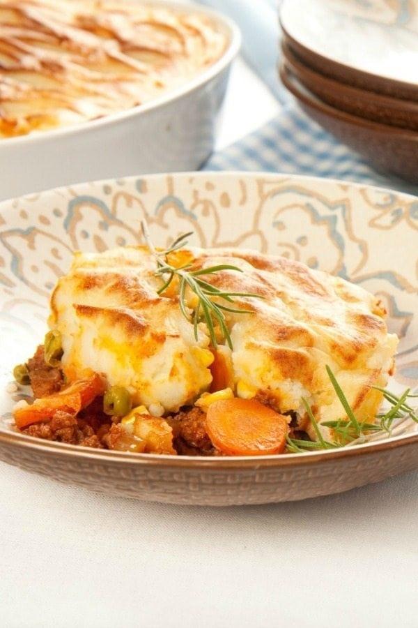 So yummy -- easy shepherd's pie!