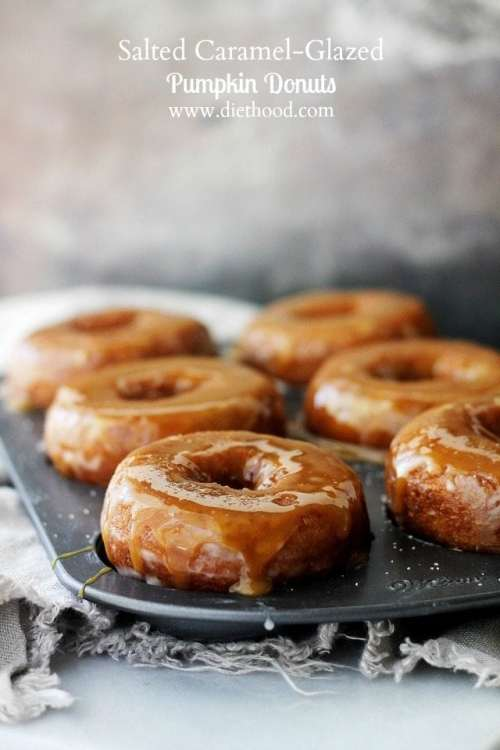 https://diethood.com/salted-caramel-glazed-pumpkin-donuts/