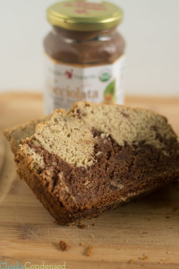 Nutella Banana Bread: This recipe is moist, chocolate-y, and absolutely delicious. It has also been adapted to have gluten free options!