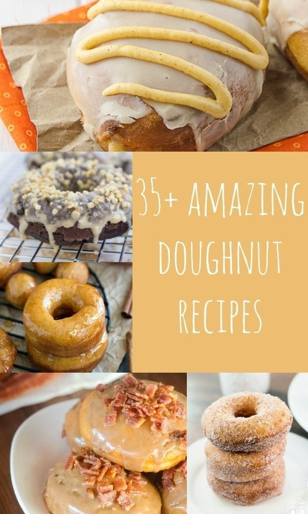 Looking for a great homemade doughnut recipe? How about 35? Here are some of the best homemade doughnuts recipes on the web -- be warned though, we aren't responsible for any weight gain after not being able to resist making all of these!)