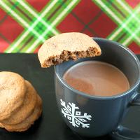 Hazelnut Hot Cocoa Cookies