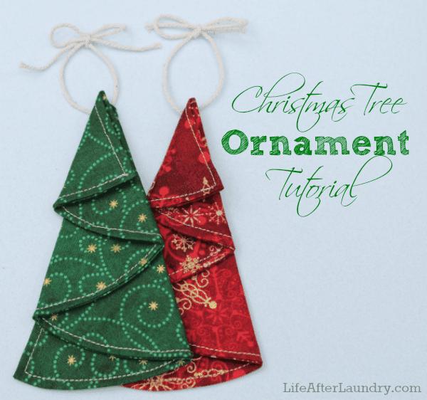 Christmas Tree Ornament tutorial