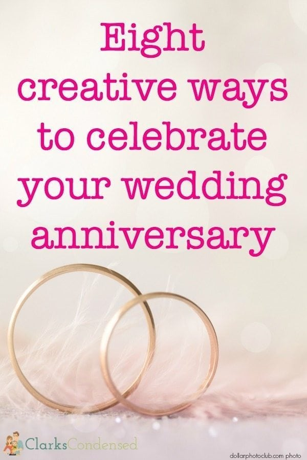 ways to celebrate your anniversary