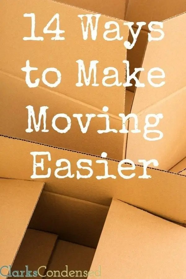 We recently moved, and it was NOT fun! However, we found a few ways to make moving easier. Here they are (save yourself some trouble!)