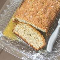 Gluten Free Lemon Poppyseed Bread